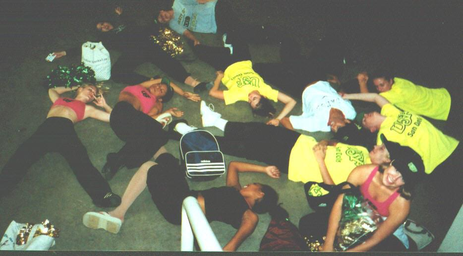 '98 UDA Camp - Passed Out